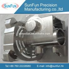 High quality pricision chrome plating cnc turning metal