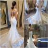 mariage vestido de noiva praia Sweetheart sexy mermaid wedding dresses CYW-044