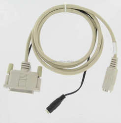 CABLE POLE DISPLAY ADAPTER DB25F TO PS2 2F AND POWER ADAPTER 5FT