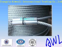 1*12 11mm Hot dipped galvanized steel wire rope