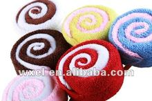 Sweet Lollipop Christmas Cake towel
