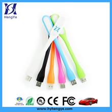 Powered flexible MINI LED USB light usb flash drive led light, micro usb led light, mini usb led light
