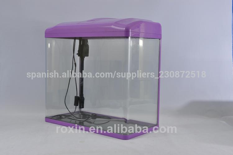 acuario de vidrio vertical del tanque de peces de las medusas de arrecife de coral suministros procedentes de china
