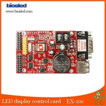 Alibaba Express Hot sale for P10 Red Module LED display controller with USB/RS232 Port