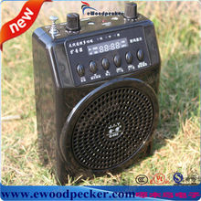 Woodpecker Mp3 Electronic bird sound caller with Long distance Wireless Remote