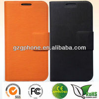 New custom high quality PU leather for samsung galaxy s4 i9500 case