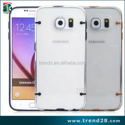 transparent plastic case for galaxy s6, clear plastic card case for galaxy s6