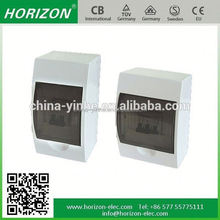 mcb surface and flush type waterproof ABS PP DMC SMC material distribution box
