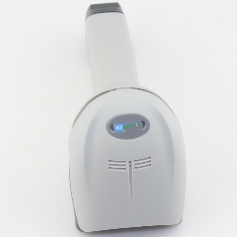 NT-2012 White And Black Colour Type Laser Barcode Scanner Model Express Barcode Scanner