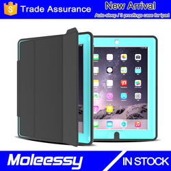 FlyBrid Vibrant Trendy Color Style Slim-Fit Folio Magnetic Smart Cover case with Auto Sleep/Wake Feature for iPad 2 for iPad 3