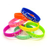Various styles and colors silicon wristband and fashion bracelets