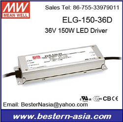 36V LED Driver Dimmable Meanwell ELG-150-36DA