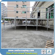 Indoor Events movable stage, outdoor events Portable stage setup equipments