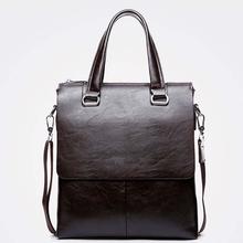 top fashional italian cow leather shoulder bag men