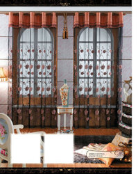 Decor Embroidered curtain drapes