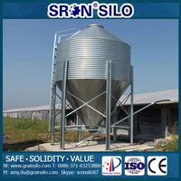 Factory sales price animal feed bin storage silo/ Poultry farming equipment