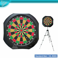 Table Top Electronic Soft Tip Dart Board with Display stand