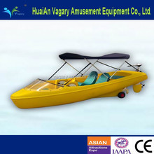 Amusement Park Equipment Kids and Adult Water Pedal Boat Paddle Boat
