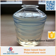 Water based polyurethane liquid resin for wood paint and other hard coatings