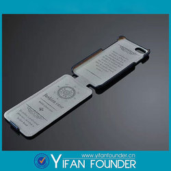 Universal protective cover filp open pu purse flip pu case for iphone 6