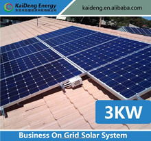 3KW Solar Home System For Charge The Battery Supply Electric Solar System, Solar Home Roof Power System