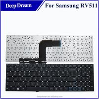 Black US laptop keyboard for samsung rv520 rv515 rv511 rv515 rv509 rv510 rc509 rc510 rc511