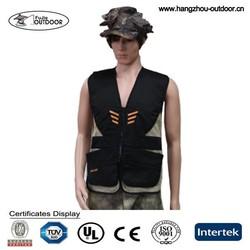 Mens Multi Pockets Shooting Hunting Fishing Hiking Vest