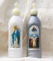 модные аксессуары Святой католической христианской религии святой воды ясно бутылки для семьи и чашки