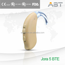Jora 5 Beige Hearing Aid BTE Programmable with Advanced Comfort Feature