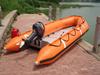 Liya 3.8m inflatable small outboard boats aluminum catamaran fishing boat