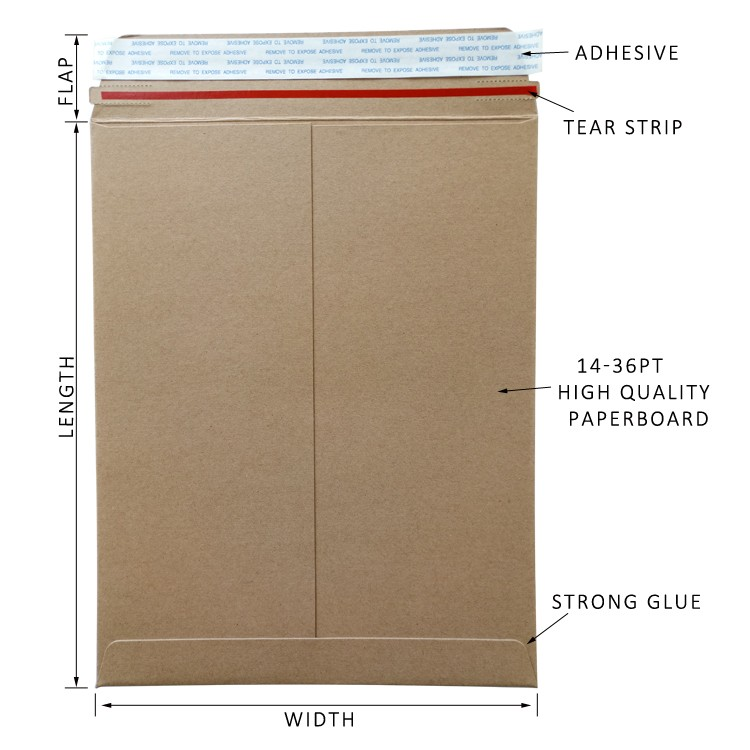 paper packaging mailers brown kraft envelopes