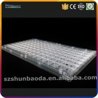 custom PET Anti-Static ESD packaging blister plastic IC/PCB tray