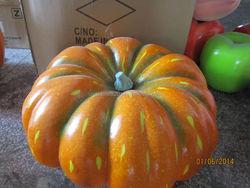 Hot sale artificial foam super big craft pumpkins for sale