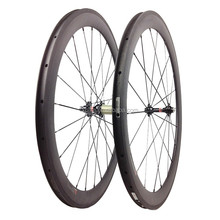 50mm carbon clincher wheelset