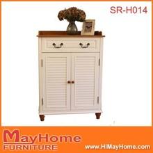 2 porta 2 gaveta branco barato shoe rack / sapatos case / armário de sapatos