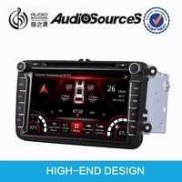 car audio system for VW Passat Polo Golf CAR DVD bluetooth HD video 1080p SD USB phonebook