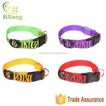 LED Flashing Dog Collar Sexy Glow Zebra Series LED Pet Collar
