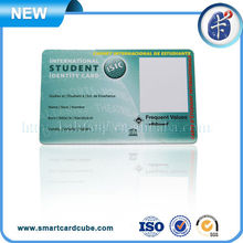 13.56mhz contact rfid free design rewritable smart card