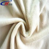 100%polyester good hand feeling short hair velboa velvet made in china factory/good price