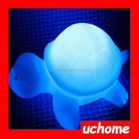 UCHOME plastic led tortoise night lights/christmas led light animals