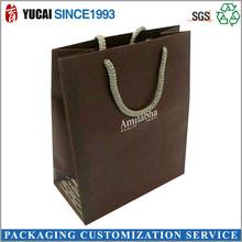 Brown kraft paper shoes packaging bag 2015 hot sale