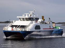 High speed car/pax catamaran vessel for sale