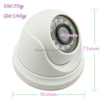 Low Price New Offer Dual Glass IR Indoor Install Dome Model For Camera Cctv Products