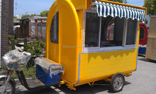 3 wheel car for sale CE&ISO9001electric fast food car/Electro-tricycle Vending Car YS-FV175C