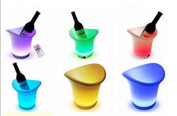 hot selling colorful led ice bucket