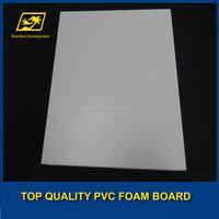 Construction Shuttering pvc rigid foam board/pvc board