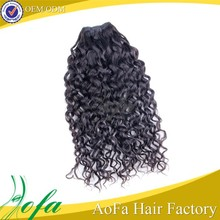 Paypal accept real aliexpress wholesale remy loose curl weave hair extensions