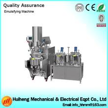 Homogenizer Hydrualic Lifting Electric Heating Cosmetic Cream Vacuum Emulsifying Mixer