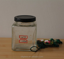 cheap and cheerful glass jar for food jam save
