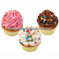 Cupcake Model Resin Fake Cupcakes